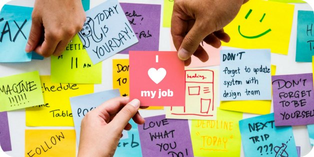 I Love my job | Between Technology
